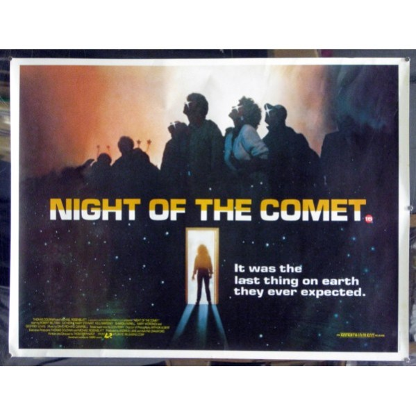 Movie poster for 1984's Night of the Comet