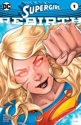 The cover of Supergirl #1, featuring the title character