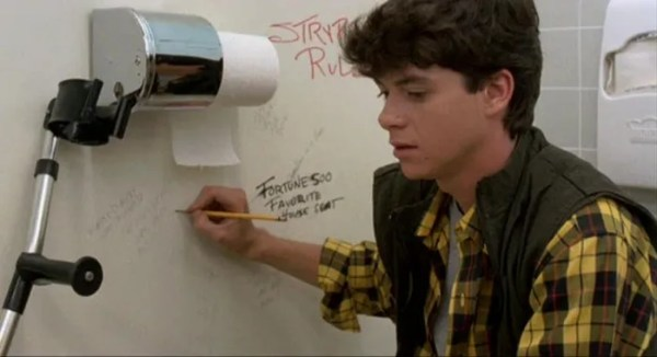 J.C. writes a poem in Night of the Creeps.