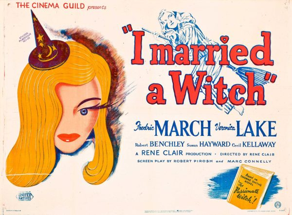Original lobby poster for I Married a Witch