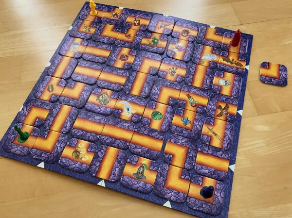 The Labyrinth Board