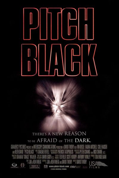Movie poster for Pitch Black.