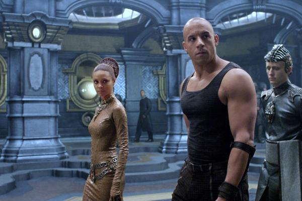 Thandi Newton and Vin Diesel.
