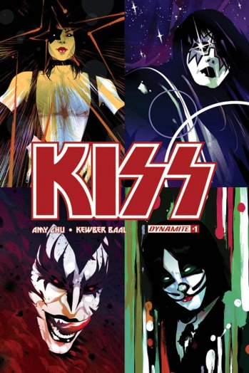 The Gomi Montes cover for Kiss No. 1. Courtesy of Dynamite Entertainment