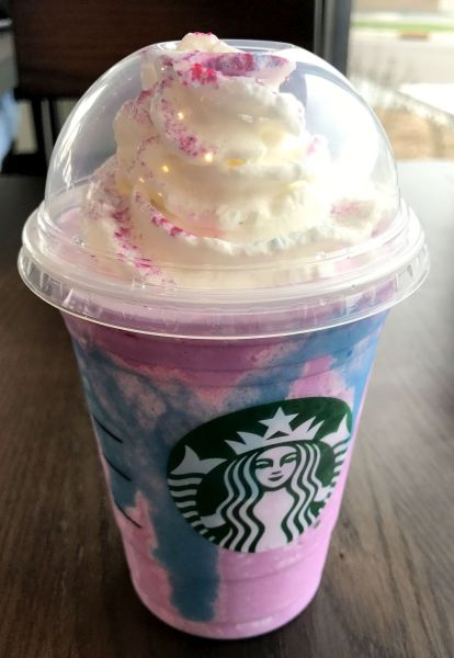 The unicorn frappuccino