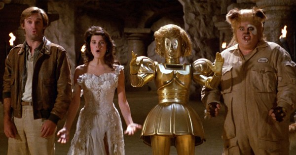 Spaceballs: The Heroes. Including Bill Pullman, Daphne Zuniga, Lorene Yarnell (and the voice of Joan Rivers), and John Candy