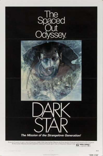 Theatrical poster for Dark Star