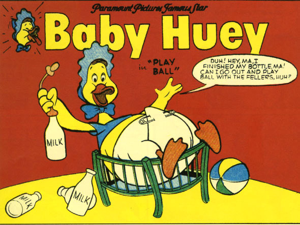 Cartoon character Baby Huey