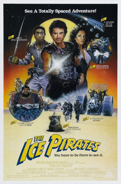 The Ice Pirates theatrical poster.