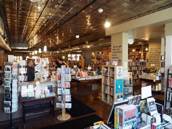 The interior of Common Good Books