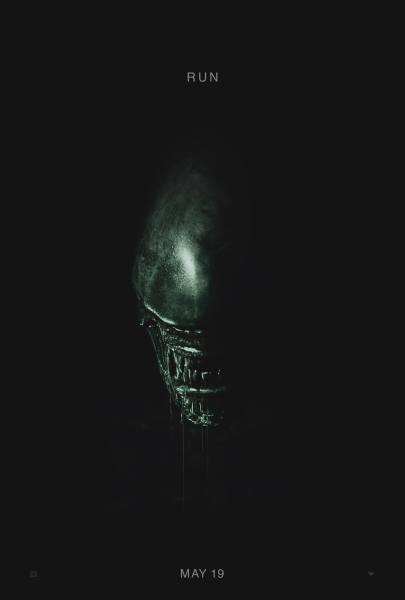 Promotional poster for Alien: Covenant