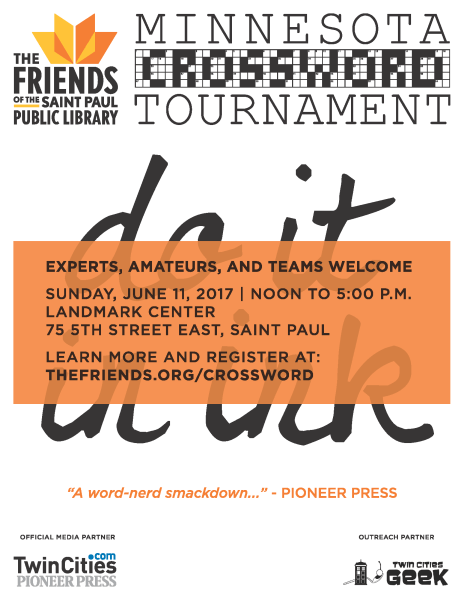 Minnesota Crossword Tournament: Do It in Ink