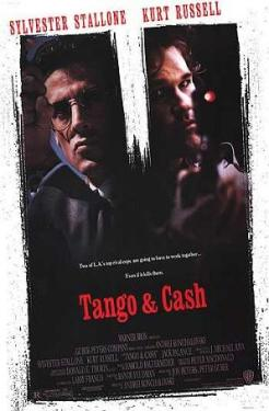 The theatrical poster for Tango and Cash