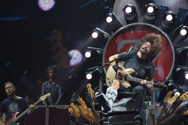 Foo Fighters headlining Xcel Energy Center in Aug. 2015. Photo by Paul Patane
