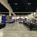 The MInnesota Fan Fest exhibitor hall