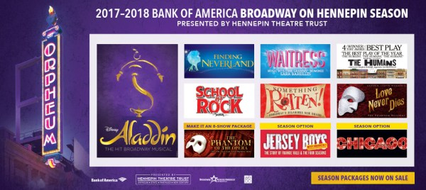 2017–2018 Broadway on Hennepin season