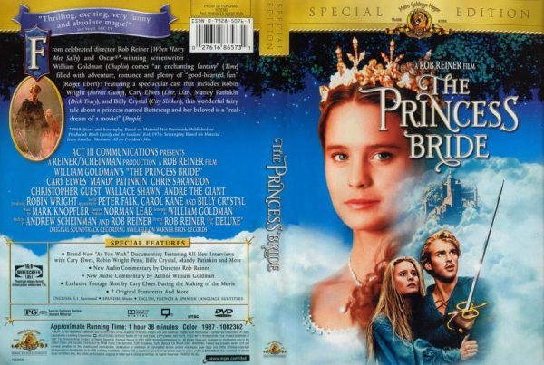 The Princess Bride DVD case