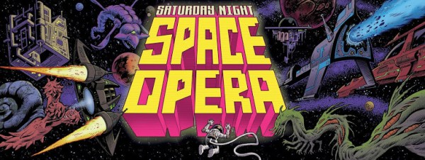 Saturday Night Space Opera logo