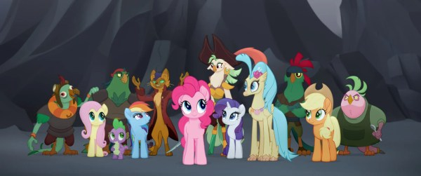 The cast of My Little Pony: The Movie