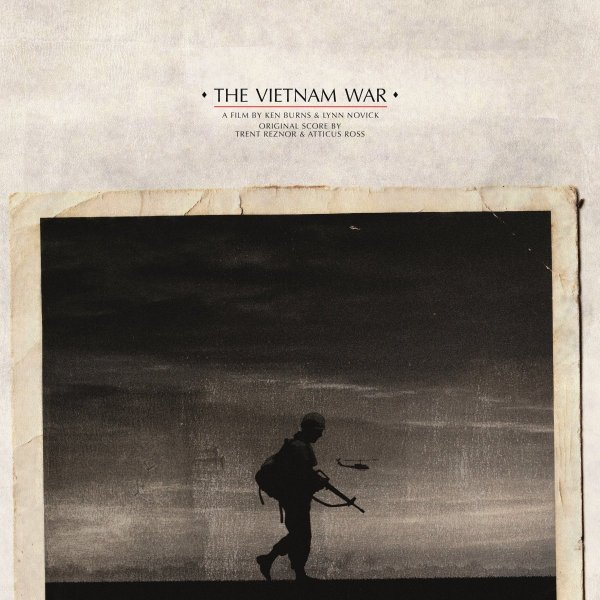 A silhouette of a single man with a gun is set against a drab backdrop