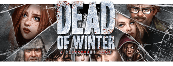 Dead of Winter logo banner