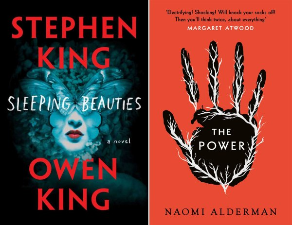 Sleeping Beauties and The Power covers