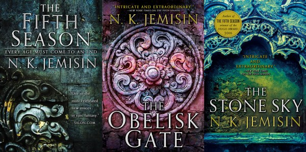 Broken Earth trilogy covers