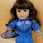 A doll ready for space exploration
