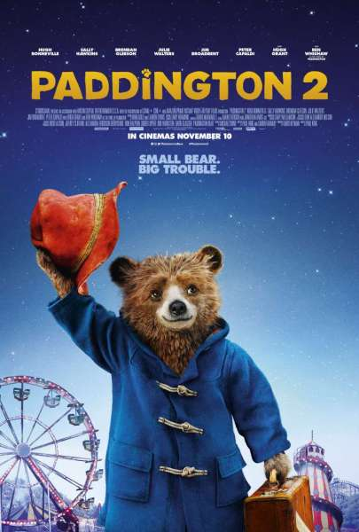Teaser poster for Paddington 2.