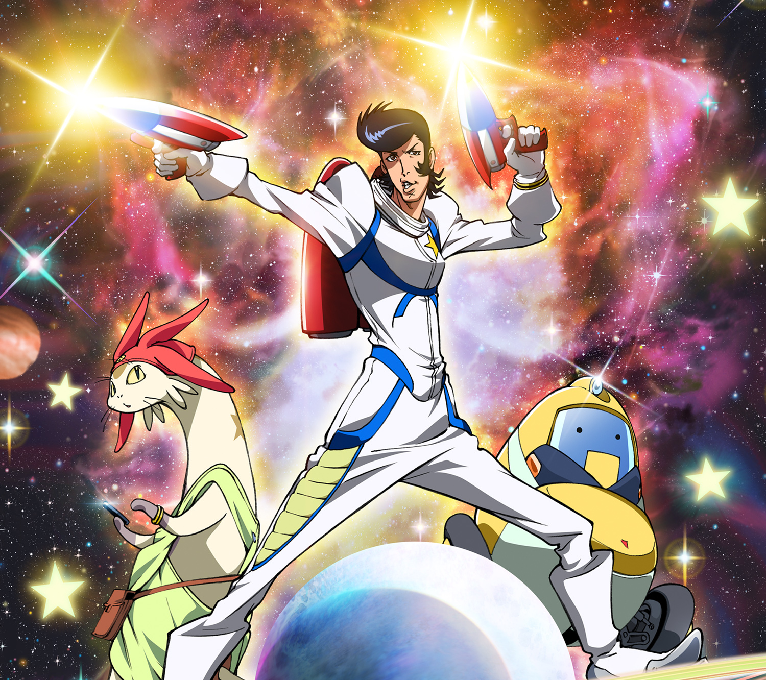 in space dandy absurdity is the final frontier
