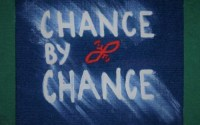 Logo from the Chance By Chance Podcast website. The letters are white against a blue background.