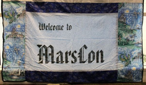 Banner that says Welcome to MarsCon