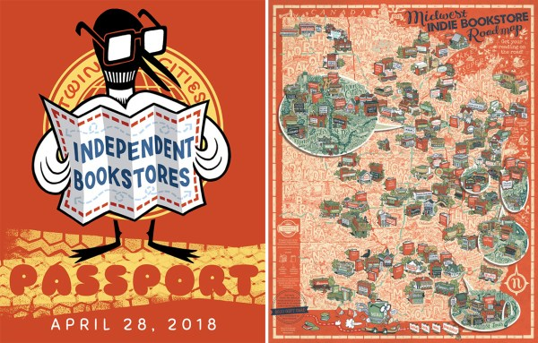 The Twin Cities IDB Passport and Midwest Indie Bookstore Roadmap