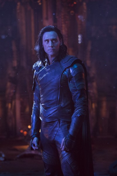 A promotional photo of Loki for Avengers: Infinity War.