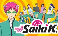 Title screen/promo image from The Disastrous Life of Saiki K.