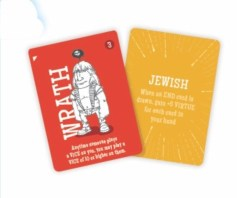 Character and Religion cards