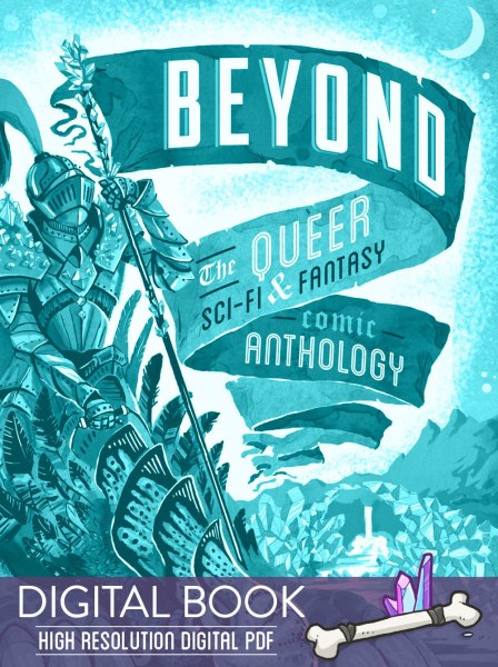Beyond: the Queer Sci-Fi & Fantasy Comic Anthology cover
