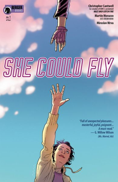 She Could Fly Dark Horse Christopher Cantrell Martin Morazzo