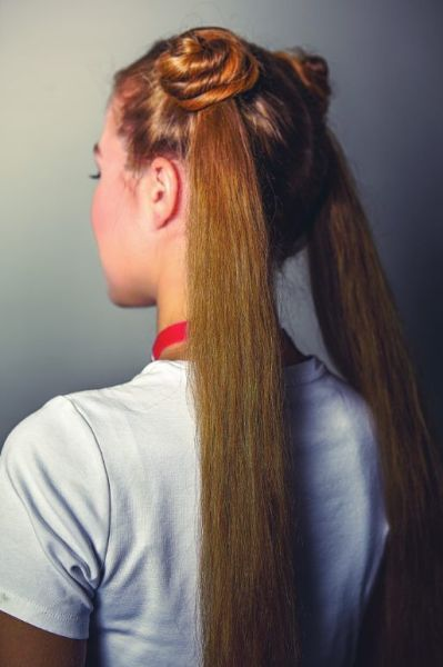 Picture of the Usagi Tsukino Hair Style