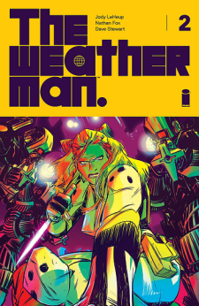 The Weatherman #2 cover