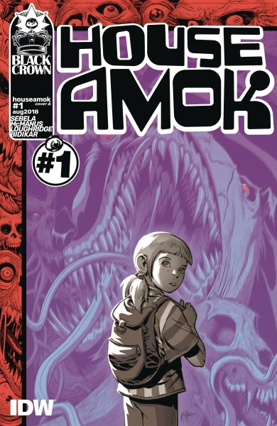 House Amok #1 cover