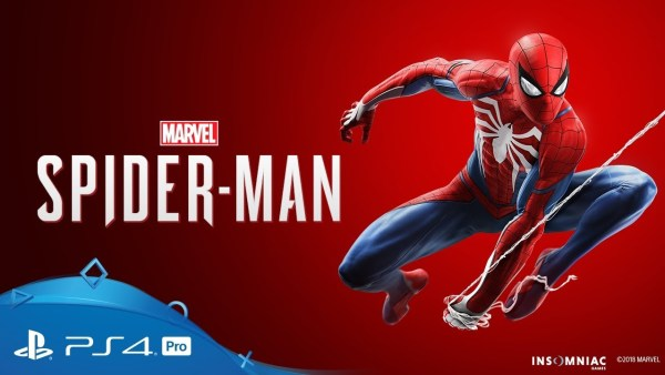 Marvel's Spider-Man promotional header
