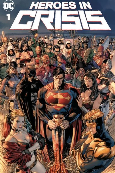 Cover of Heroes in Crisis #1