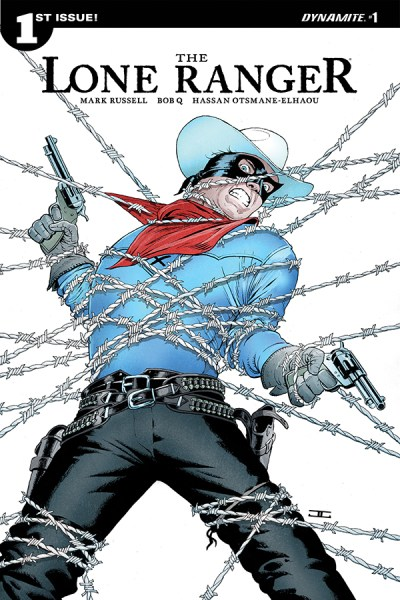 Cover of Lone Ranger #1