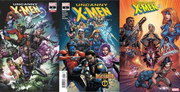 Variant covers for Uncanny X-Men
