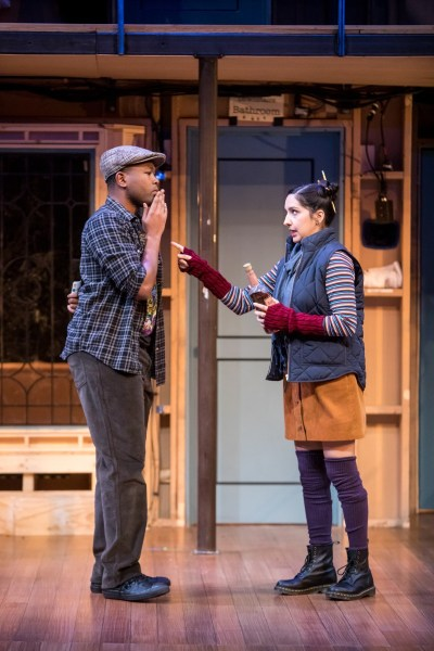 JuCoby Johnson (Tim Allgood) and Kimberly Chatterjee (Poppy Norton-Taylor)