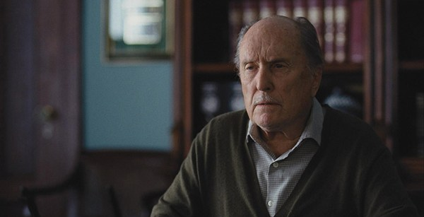 Robert Duvall looking off-camera