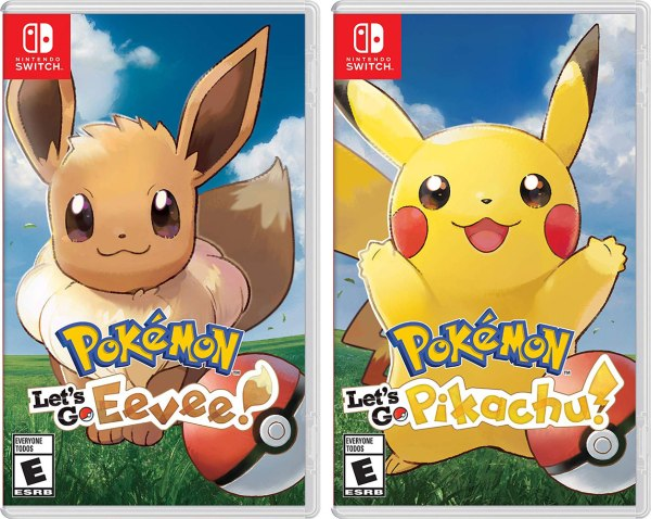 Pokémon: Let's Go Eevee and Pikachu covers
