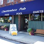 Chatterbox Pub from the outside.