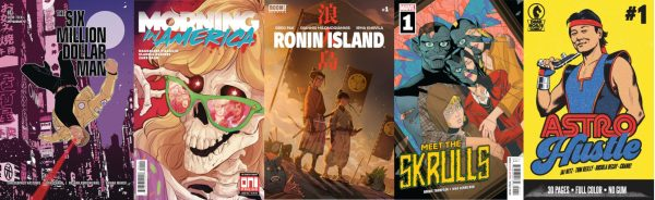 Comics for the week of March, 6 2019